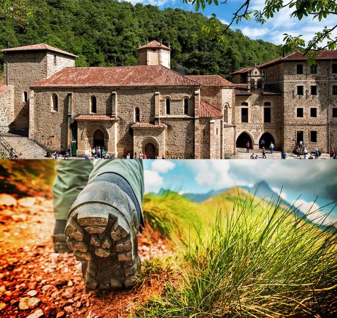 Liébana recibirá en 2017 miles de visitantes para visitar el Monastario de Santo Toribio.